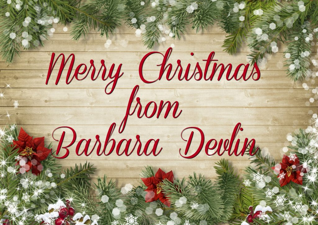 Christmas That Almost Wasn T.A Christmas Message To My Readers Barbara Devlin Official